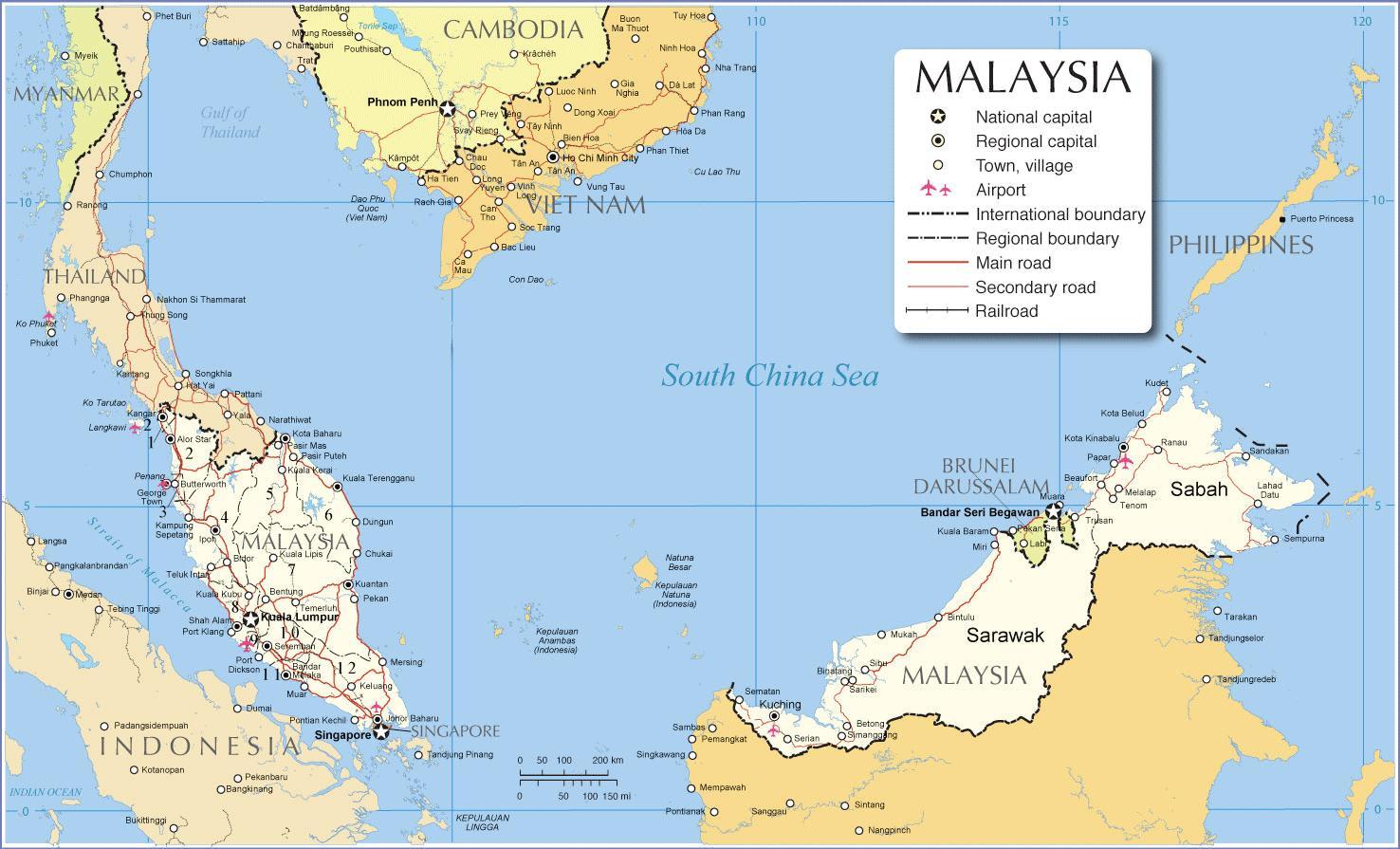 Malesia Lentokentta Terminaali Kartta Kartta Malesia Lentokentta