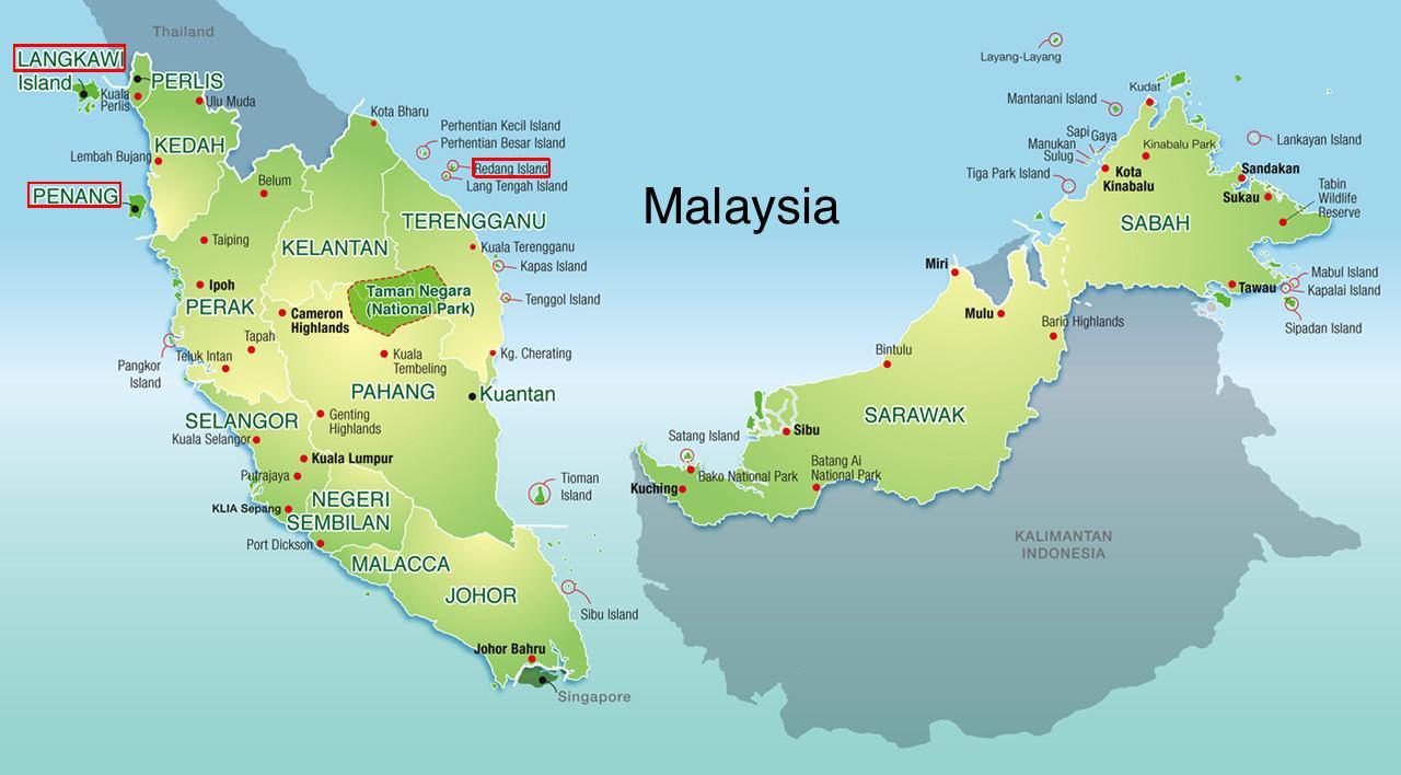 Malesia Rantaloma Kartta Kartta Malesia Rantaloma Kaakkois