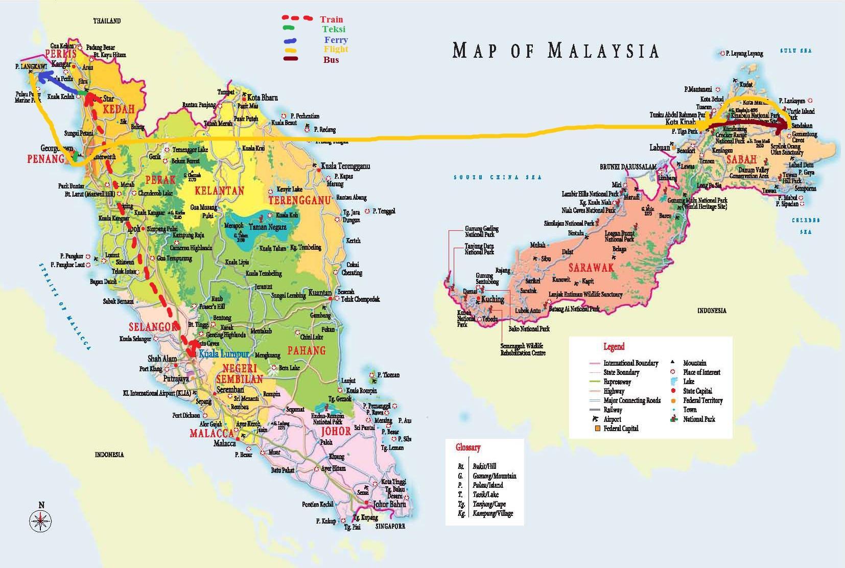Malesian Valtiot Kartta Malesia Kartta Hd Kaakkois Aasia Aasia