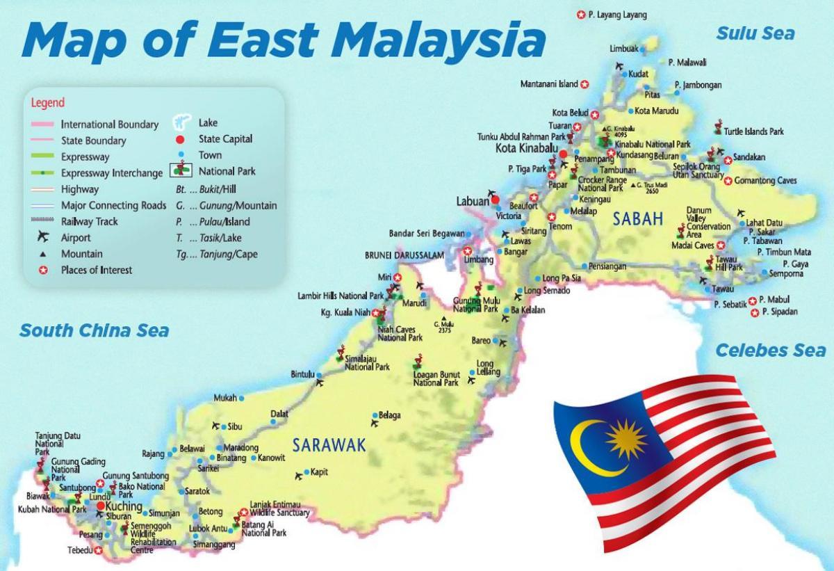 Ita Malesia Kartta Kartta Ita Malesia Kaakkois Aasia Aasia