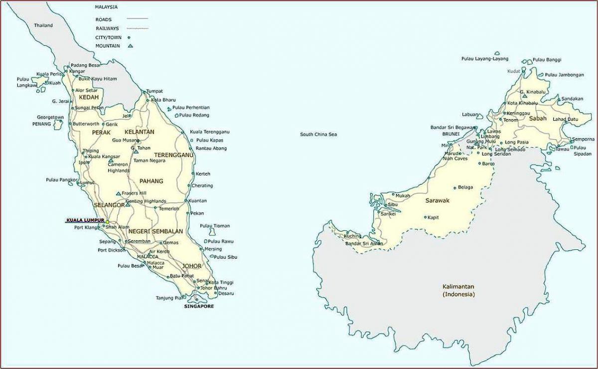 Malesia Offline Kartta Malesia Kartta App Kaakkois Aasia Aasia
